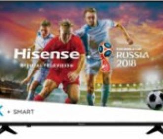 Buy Hisense 55″ 4K Ultra HD Smart LED TV with HDR for $299.99 (Was $449.99)