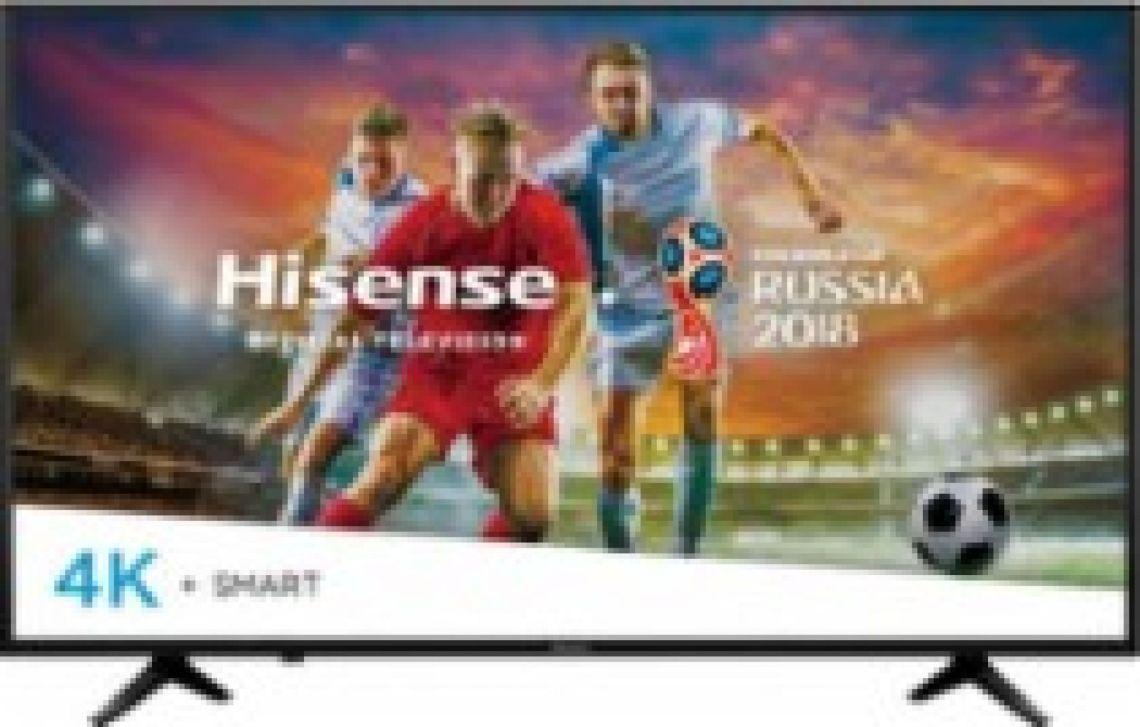 "Hisense 55"" Class - LED - H6 Series - 2160p - Smart - 4K UHD TV with HDR Black 55EU6070 - Best Buy"