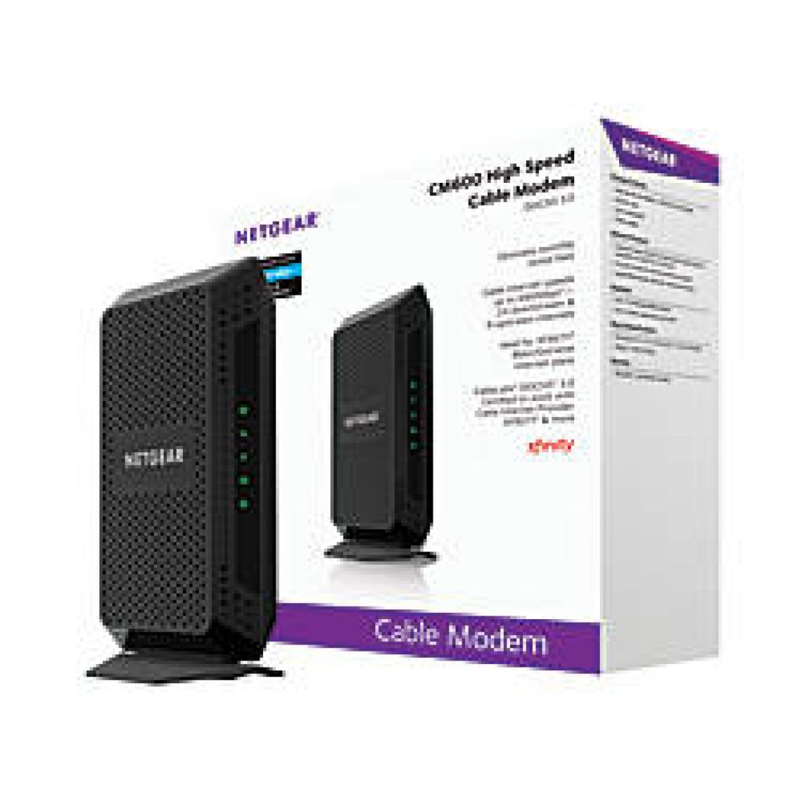 Netgear DOCSIS 3.0 High Speed Wired Gigabit Cable Modem CM600 100NAS by Office Depot & OfficeMax