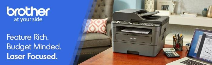 Amazon.com: Brother Monochrome Laser Printer, Compact All-in One Printer, Multifunction Printer, MFCL2710DW, Wireless Networking and Duplex Printing, Amazon Dash Replenishment Enabled: Electronics