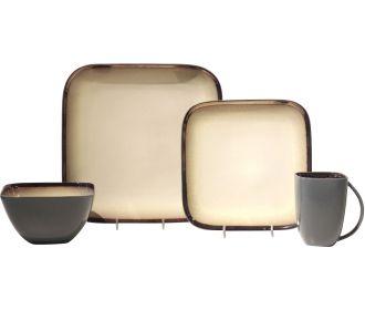 Buy Baum Harrison 16-Piece Stoneware Dinnerware Set for $19.99 (Was $56.99)