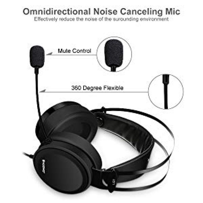 Amazon.com: Gaming Headsets, ELEGIANT Xbox PS4 Gaming Headphones with Noise-Cancelling Mic PC Computer Headphones, Soft/Lightweight Design Over-Ear Gaming Headset for Nintendo switch PS4 Xbox PC Laptop Mac: Computers & Accessories