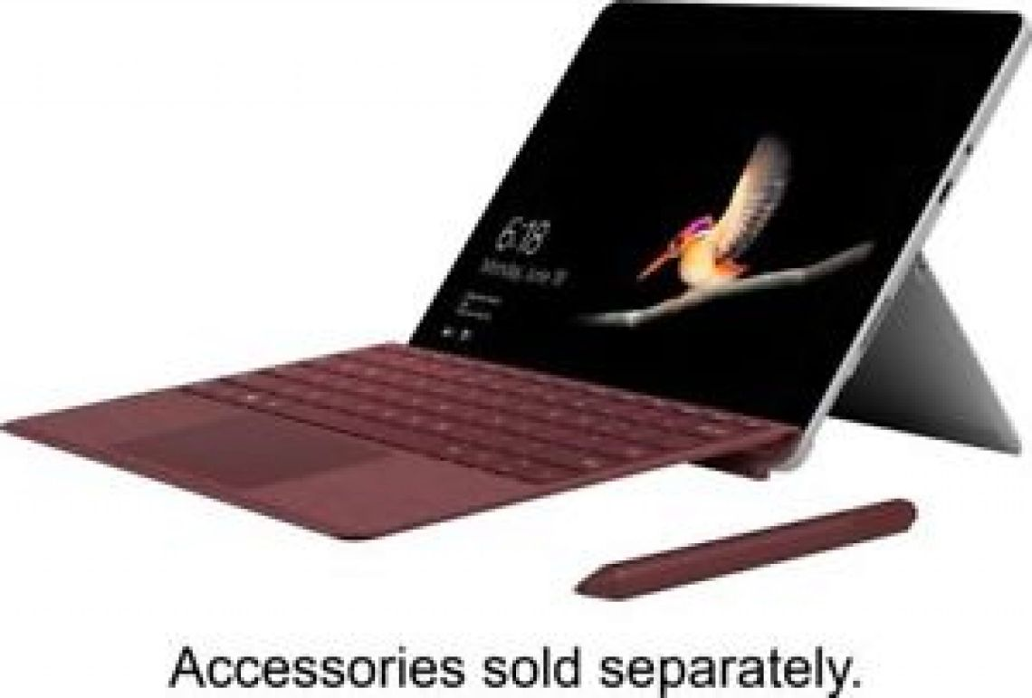 "Microsoft - Surface Go - 10"" Touch-Screen - Intel Pentium Gold - 4GB Memory -... 