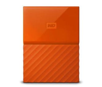 Buy WD My Passport 2TB Orange Portable USB 3.0 Hard Drive for $69.99 (Was $94.99)