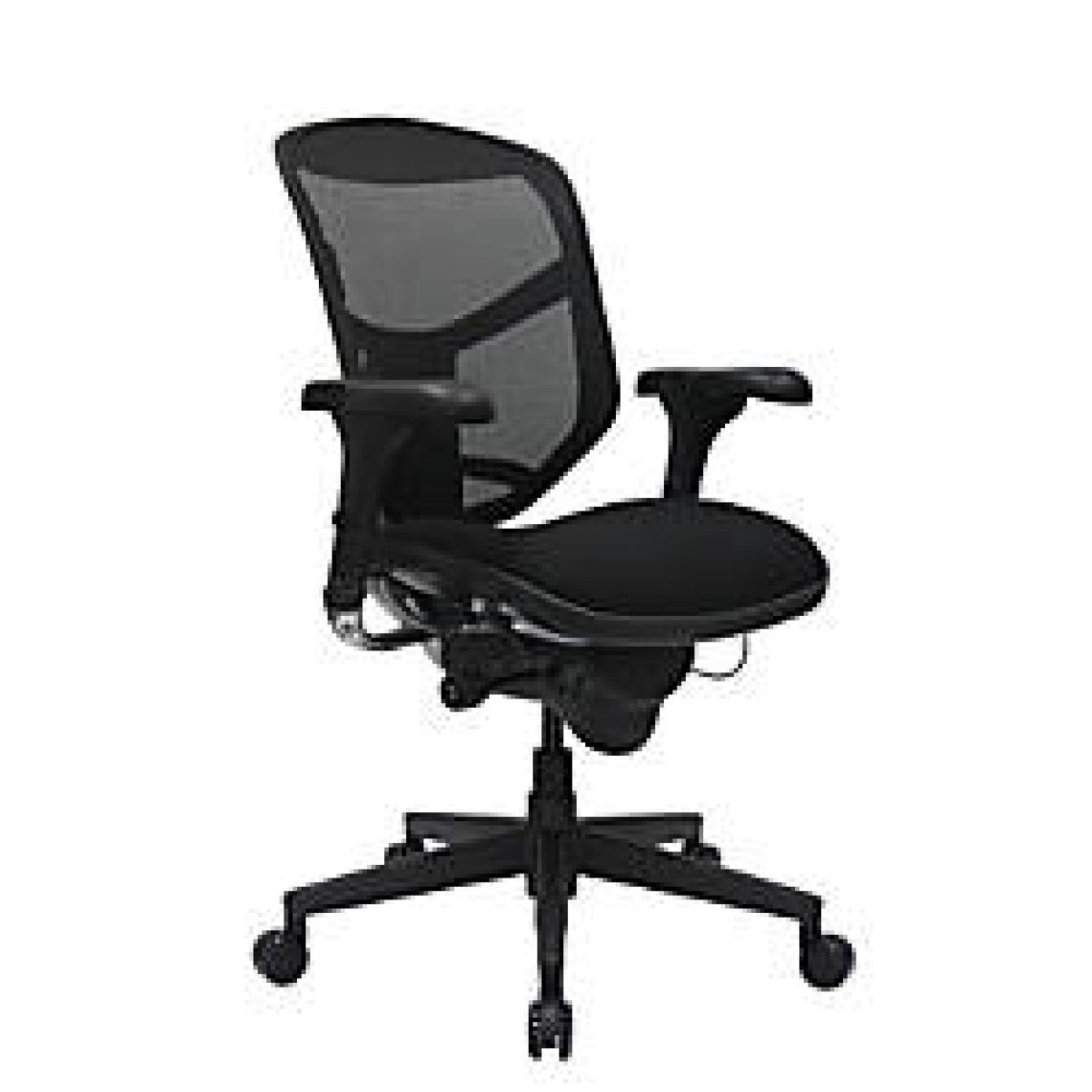 WorkPro Quantum 9000 Series Ergonomic Mid Back MeshFabric Chair Black by Office Depot & OfficeMax