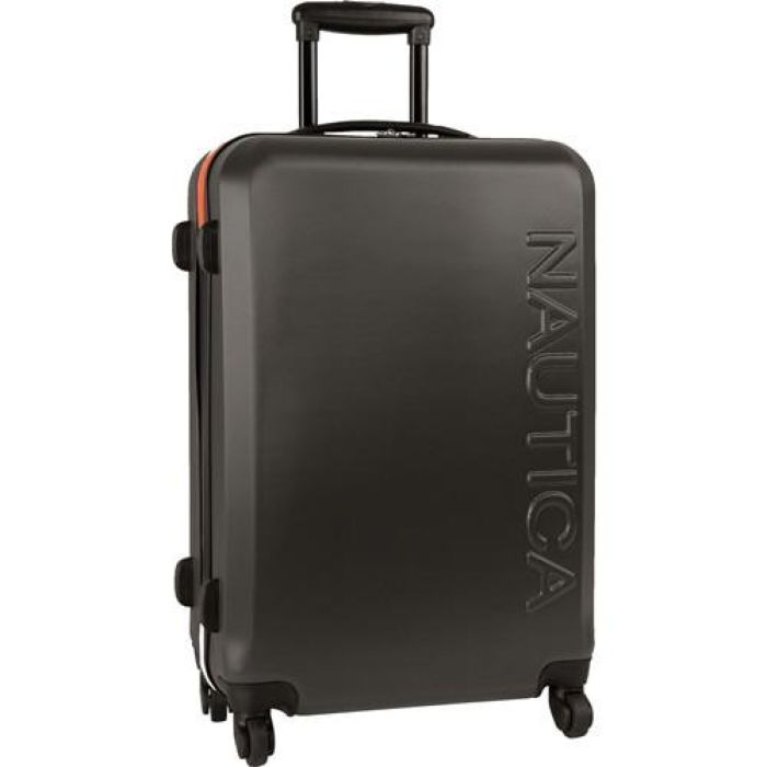 Nautica Ahoy Carry On 21 Inch Hardside Spinner Suitcase – Luggage Guy