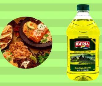 Buy 2-Liter Iberia Extra Virgin Olive Oil and Sunflower Oil Blend for $5.61