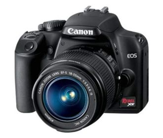 Buy Canon EOS Rebel XS DSLR Bundle Ref. for $249.99