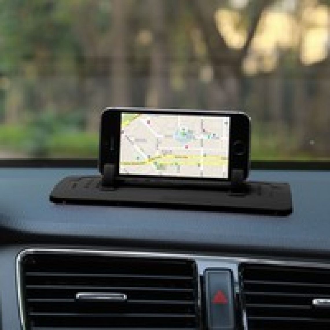 Wish | Phone Holder Car Mount Stand Silicone Pad Dash Mat Cradle Dock Anti-slip For Smart Phones Tablet PC GPS Devices Car Recorder
