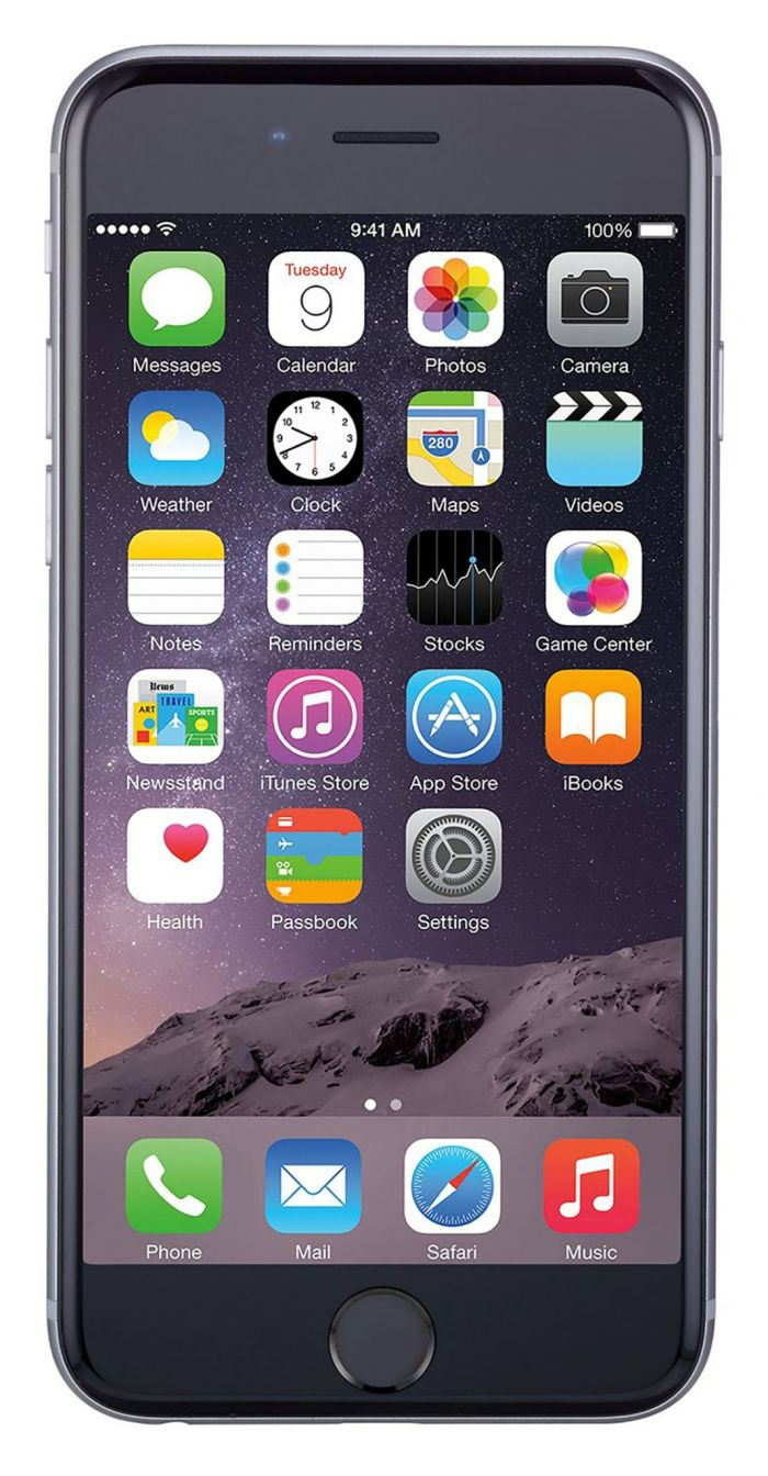 Apple iPhone 6 64GB Unlocked GSM Phone w/ 8MP Camera - Space Gray(Refurbished) - Walmart.com
