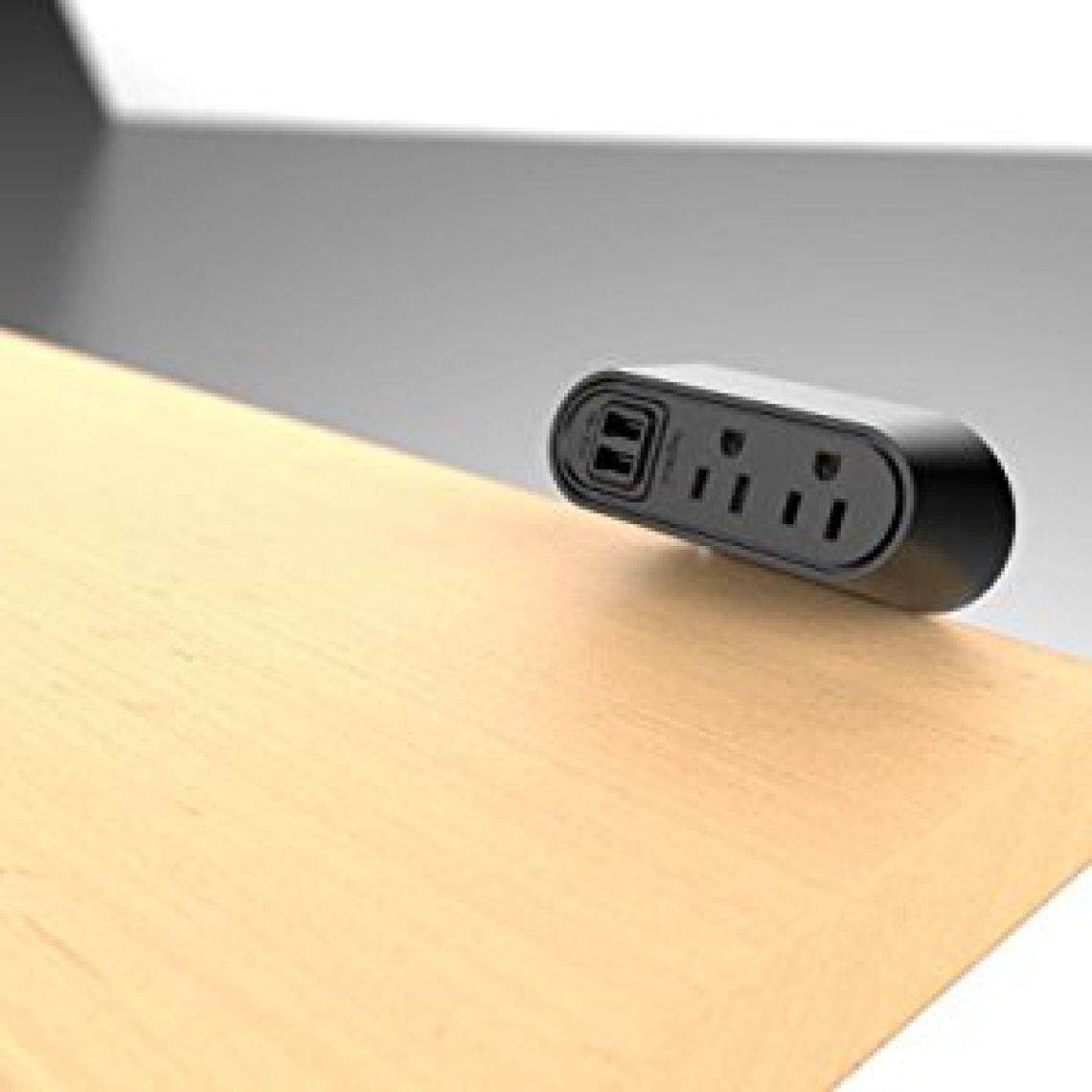 Legrand - WMC220BK Desktop Mounted USB Charging and Power Center, Power Strip with 2 Power Outlets And 2 USB Outlets for Charging, Black - - Amazon.com