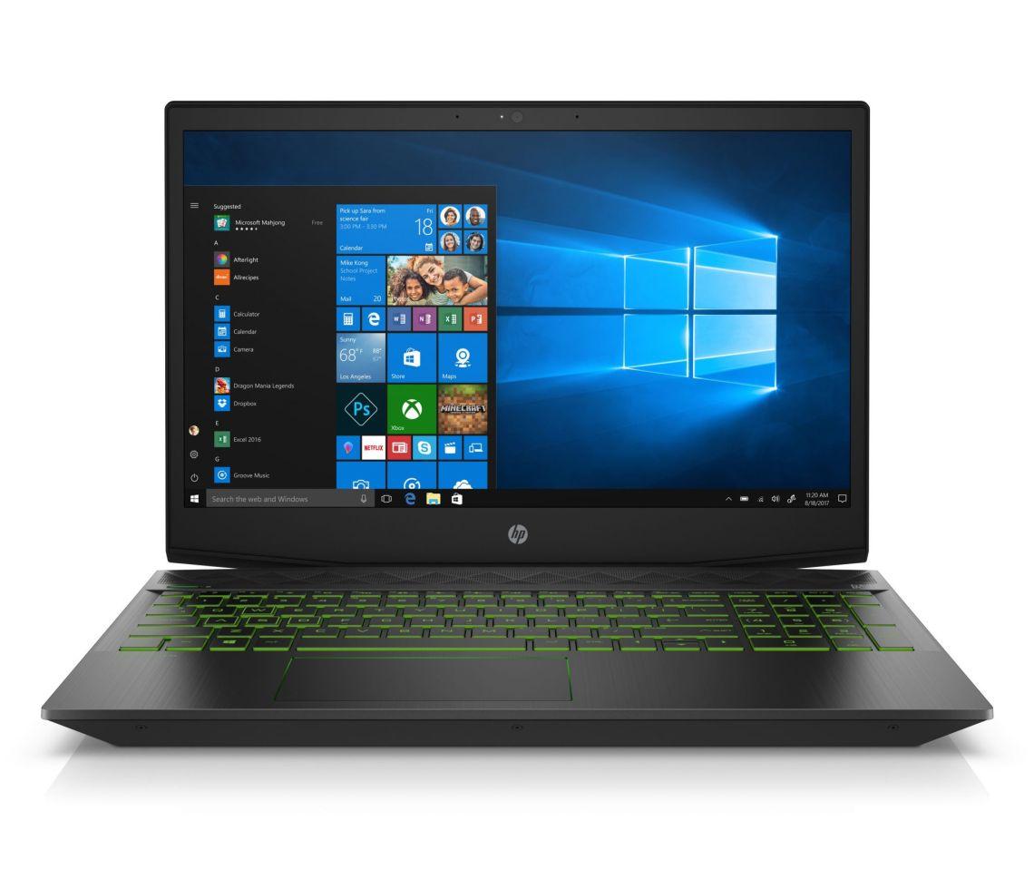 "HP Pavilion Gaming Laptop 15.6"" Full HD, Intel Core i7-8750, NVIDIA GeForce GTX 1060, 1TB HDD + 16GB Optane memory, 8GB SDRAM, 15-CX0077WM - Walmart.com"