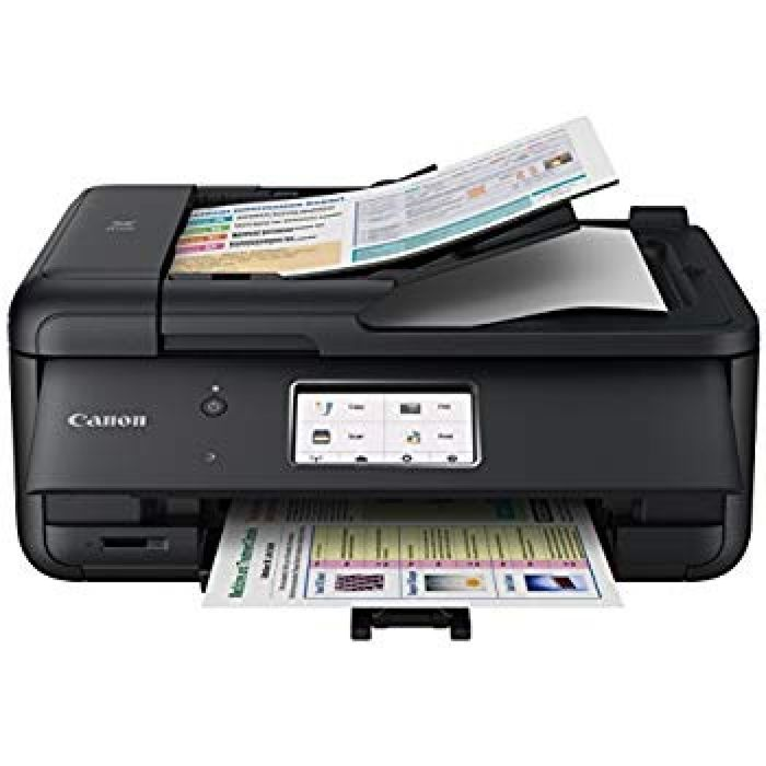 Amazon.com: Canon PIXMA TR8520 Wireless All in One Printer   Mobile Printing   Photo and Document Printing, AirPrint(R) and Google Cloud Printing, Black: Electronics