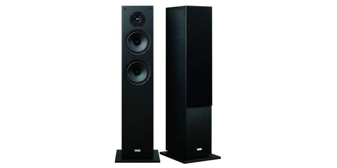 Onkyo Bass Reflex Floor Speakers (2)