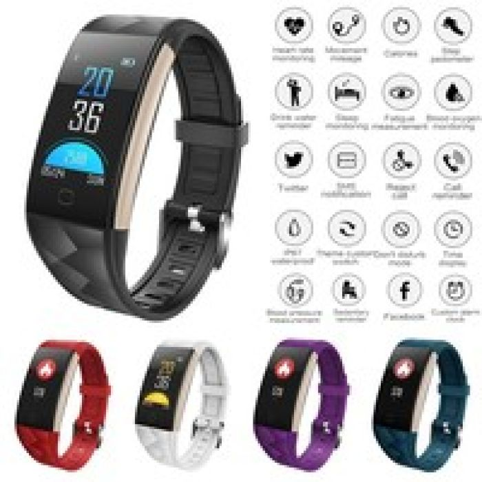 wish | Diggro T20 Smart Sport Bracelet Fitness Tracker HD Color Screen Heart Rate Blood Pressure Blood Oxygen Monitor Sleeping Monitor Call Message Reminder Remote Camera