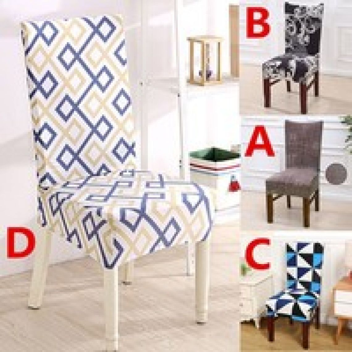 wish | Elastic Chair Cover for Household Restaurant Hotel