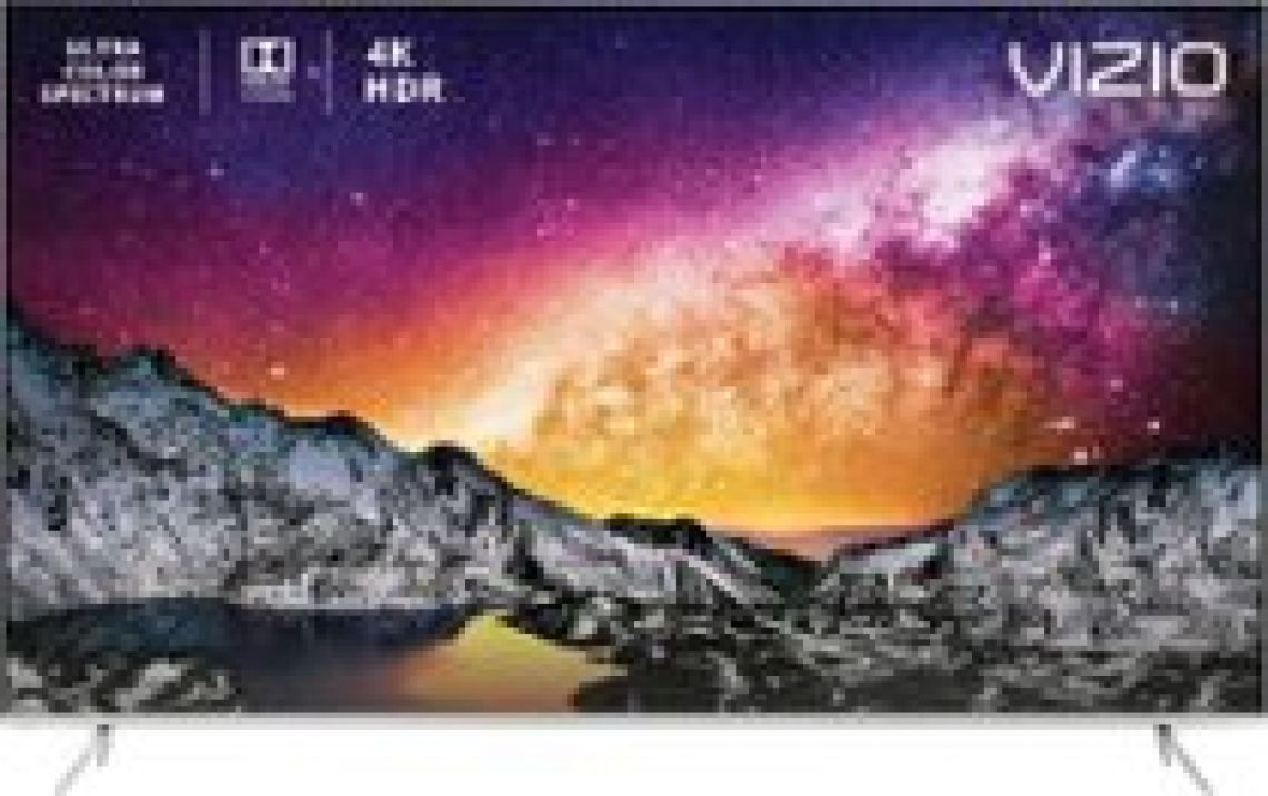 "VIZIO 65"" Class - LED - P-Series - 2160p - Smart - 4K UHD TV with HDR Silver P65-F1 - Best Buy"