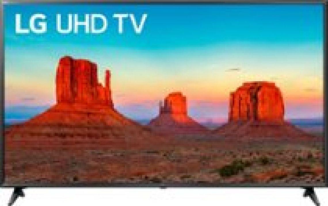 "LG 65"" Class - LED - UK6090PUA Series - 2160p - Smart - 4K UHD TV with HDR Black 65UK6090PUA - Best Buy"