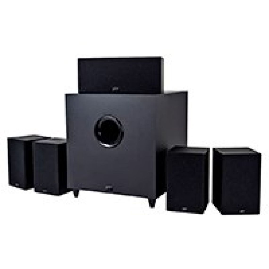 Monoprice Premium 5.1-Ch. Home Theater System with Subwoofer - Monoprice.com