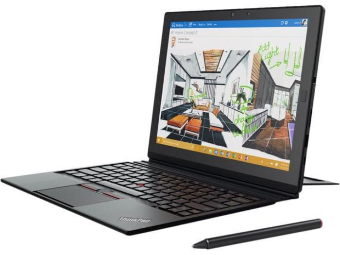"Lenovo Thinkpad X1 20GG001KUS Intel Core M5 6Y57 (1.10 GHz) 8 GB Memory 256 GB SSD 12"" Touchscreen 2160 x 1440 2-in-1 Laptop Windows 10 Pro 64-Bit – NeweggFlash.com"