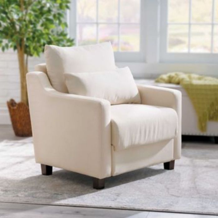 Upholstered Storage Chair | Improvements