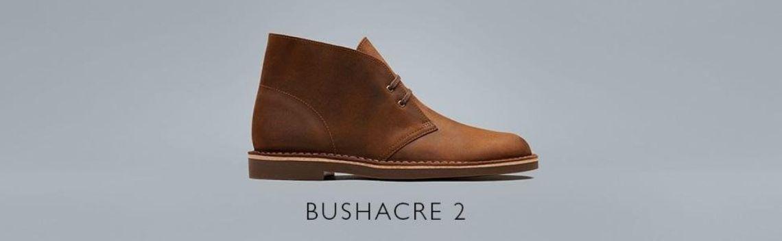 Amazon.com: Clarks Men's Bushacre 2 Chukka Boot, Dark tan Leather, 11.5 Medium US: Shoes