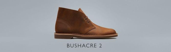 Amazon.com: Clarks Men's Bushacre 2 Chukka Boot, Dark tan Leather, 11.5 Medium US: Shoes