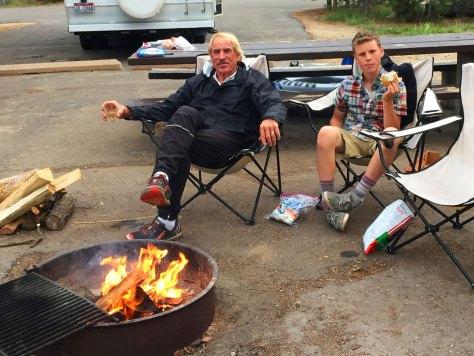 Camping at Redfish Lake