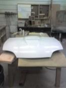 Cavalier SS style fiberglass hood