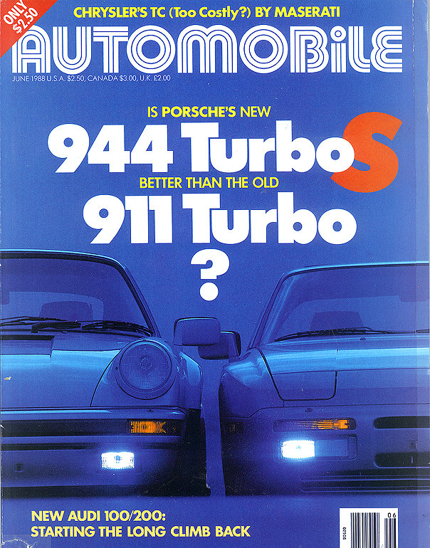Porsche 944 Turbo vs Porsche 911 Turbo 951 vs 930