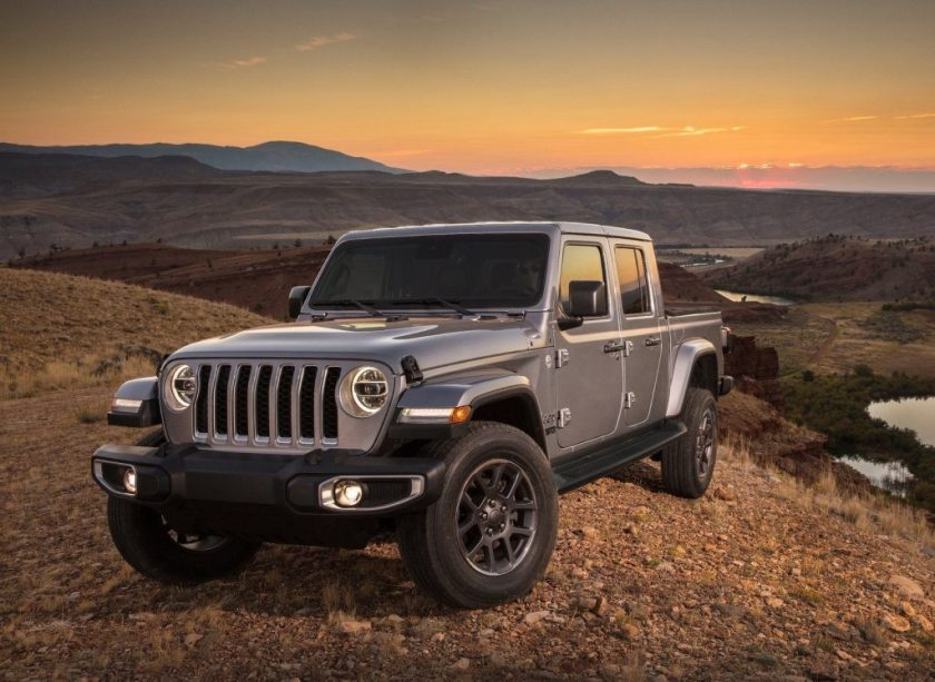 Jeep Gladiator 2020 gray
