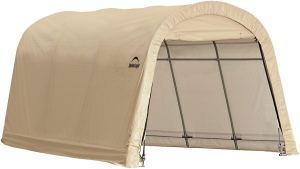 ShelterLogic Round Style Auto Shelter 10' x 20'