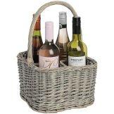 Bottle carrier basket