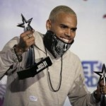 Chris Brown at the BET Awards in 2011