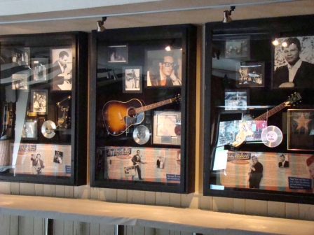 Memorabilia at the Surf Ballroom