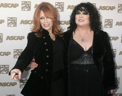 Nancy and Ann Wilson, at the ASCAP Pop Music Awards in 2009