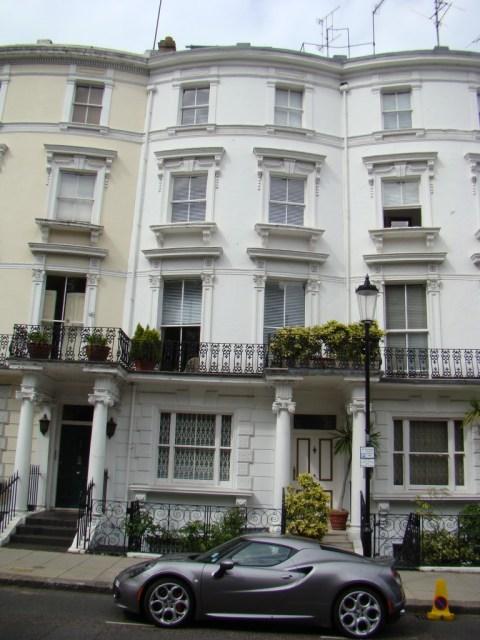 Jimi Hendrix death house—22 Lansdowne Crescent