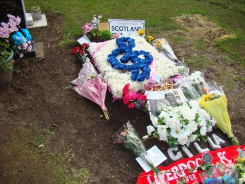 Singer/TV personality Cilla Black—Allerton Cemetery, Liverpool