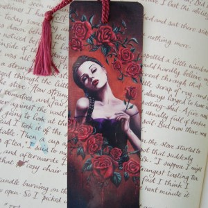 Blood Roses - Bookmark