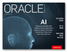Featured in Oracle Magazine