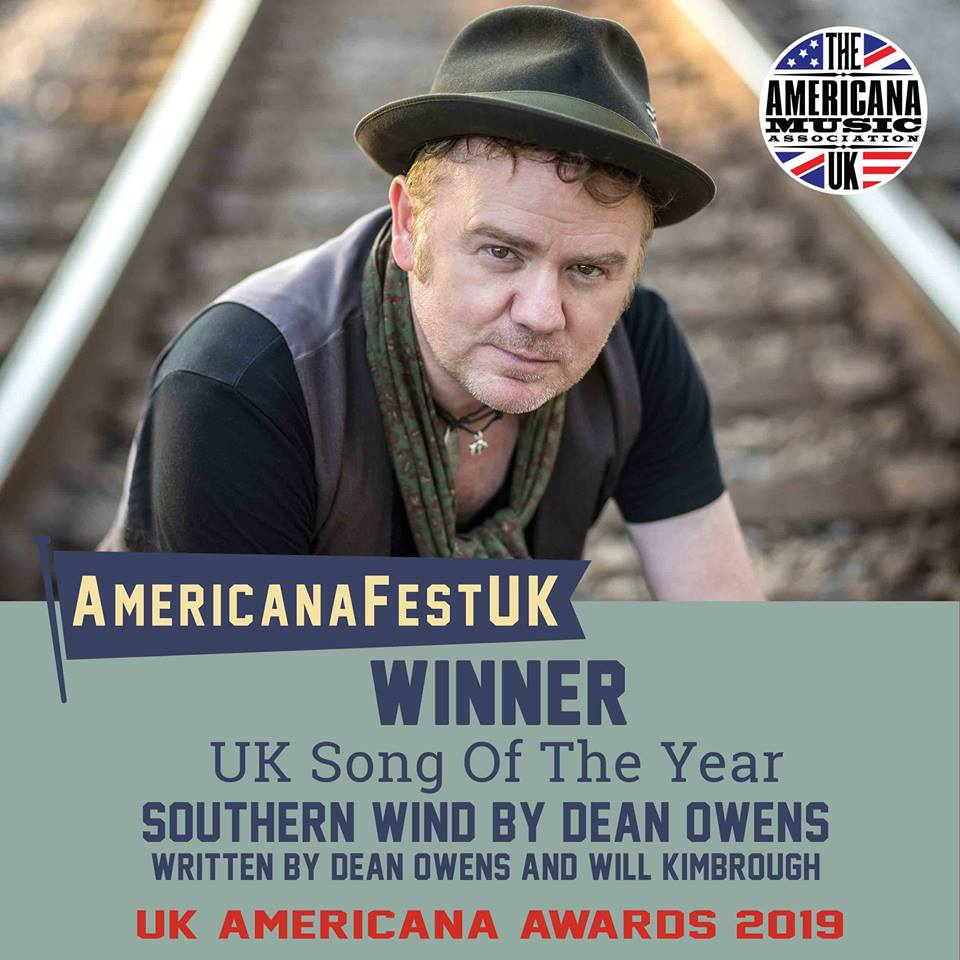 offical announcement - UK Song of the Year Award winner (AMA-UK)