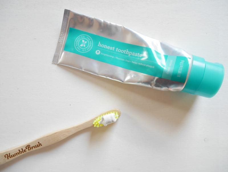 Honest Company toothpaste
