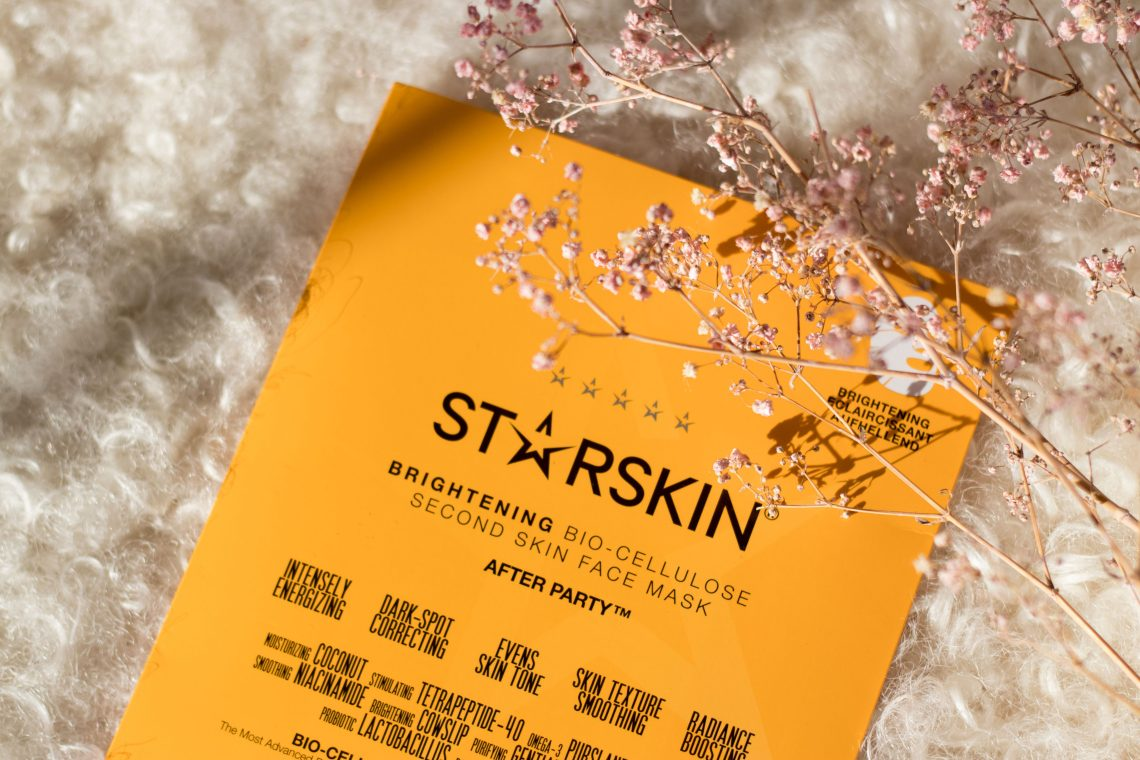STARSKIN Brightening Second Skin Face Mask