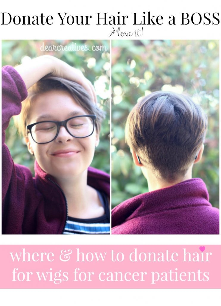 Donating Hair For Wigs For Cancer Patients Dear Creatives