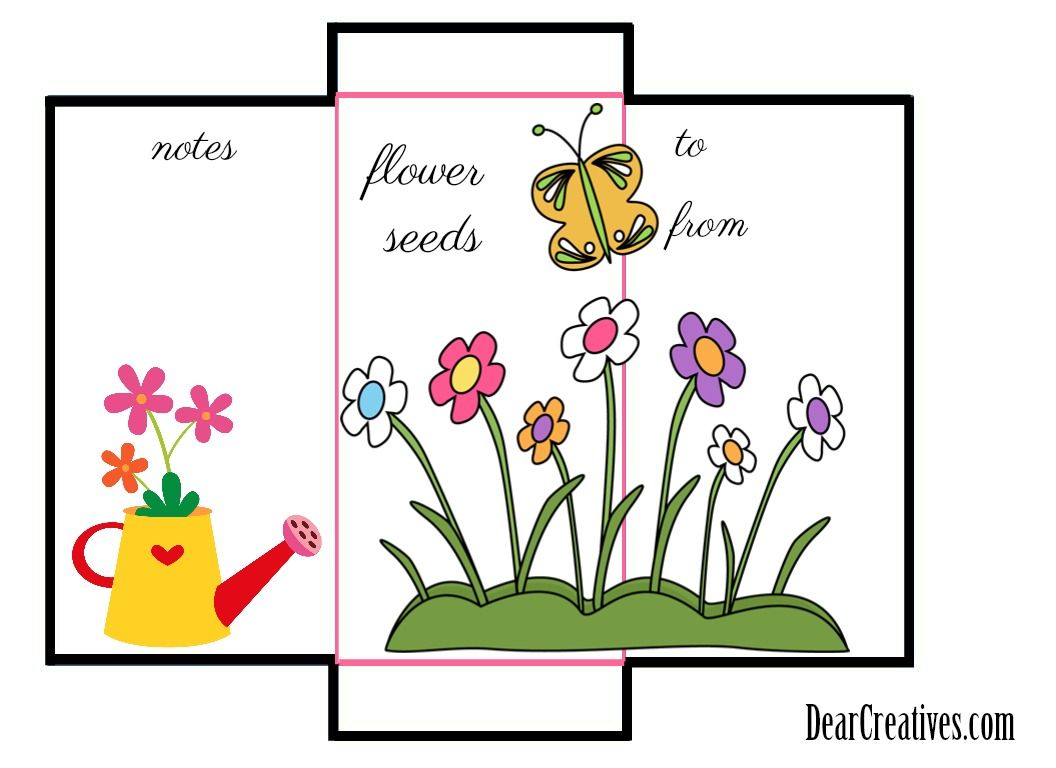 Seed Packet Template Free Printable And Diy For Your Gardening Seeds