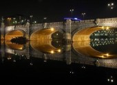 Bridge - Vittorio Emanuele I - night sight