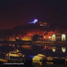 Night sight of Monte dei Cappuccini