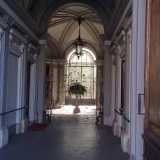 Palace Hall - under the arcades