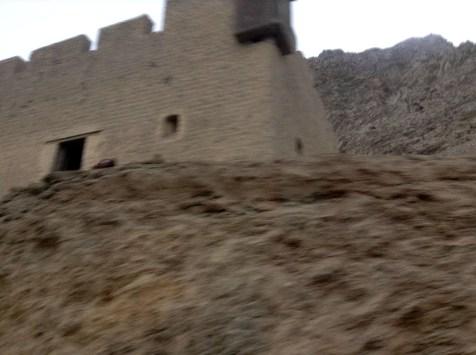 Abandoned British Outpost