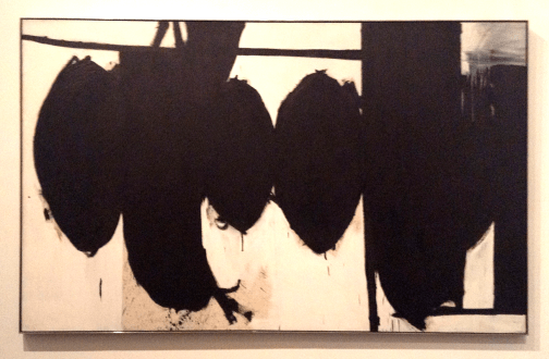 Robert Motherwell - Elegy to the Spanish Republic No. 70, 1961